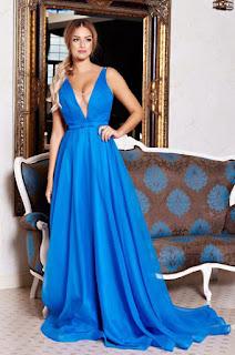 Rochie Ana Radu First Class Blue