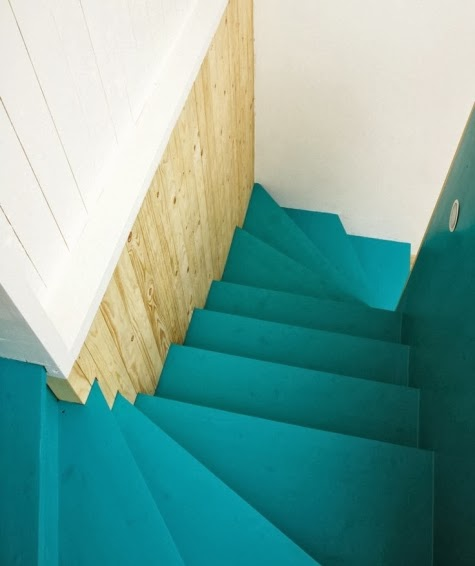 beachy stairs