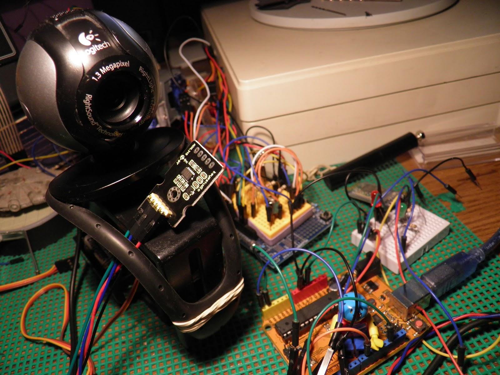 My Arduino Scratchbook: Three Axis Accelerometer ADXL345