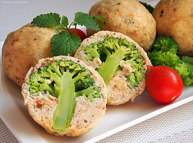 indyk z brokułami