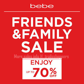 bebe Friends & Family Sales