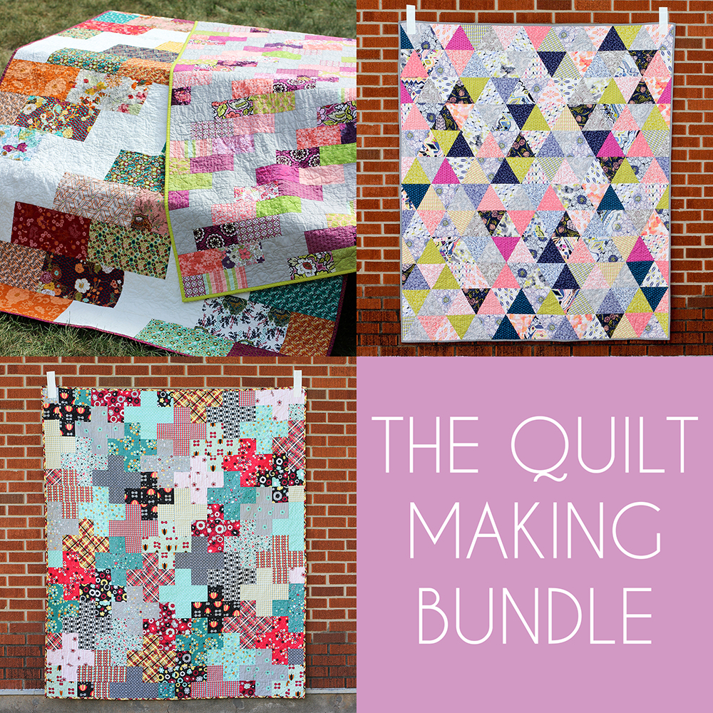 http://www.jenibakerpatterns.com/product/the-quilt-making-pdf-pattern-bundle
