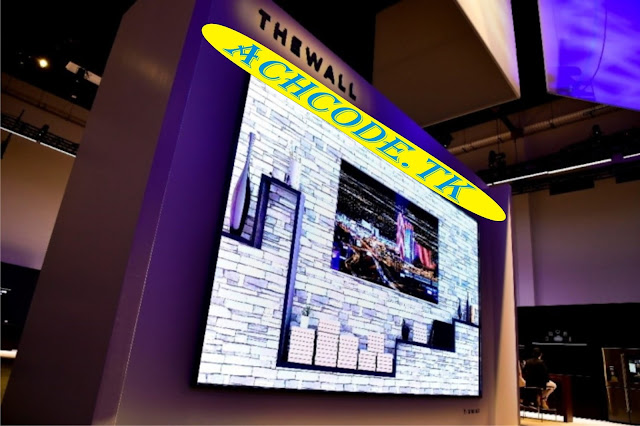 """Samsung Launches """"The Wall"""" with MicroLEDs bezel-less design"""