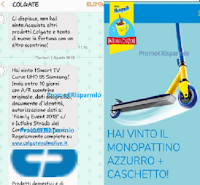 "Logo Incredibile: dopo poche ore vince TV Smart Curvo 55"" e Monopattino con Caschetto! prova anche tu!"