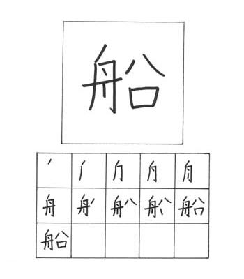 kanji kapal