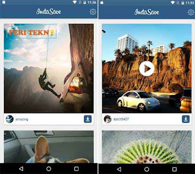 Download gambar dan video di Instagram - Feri Tekno