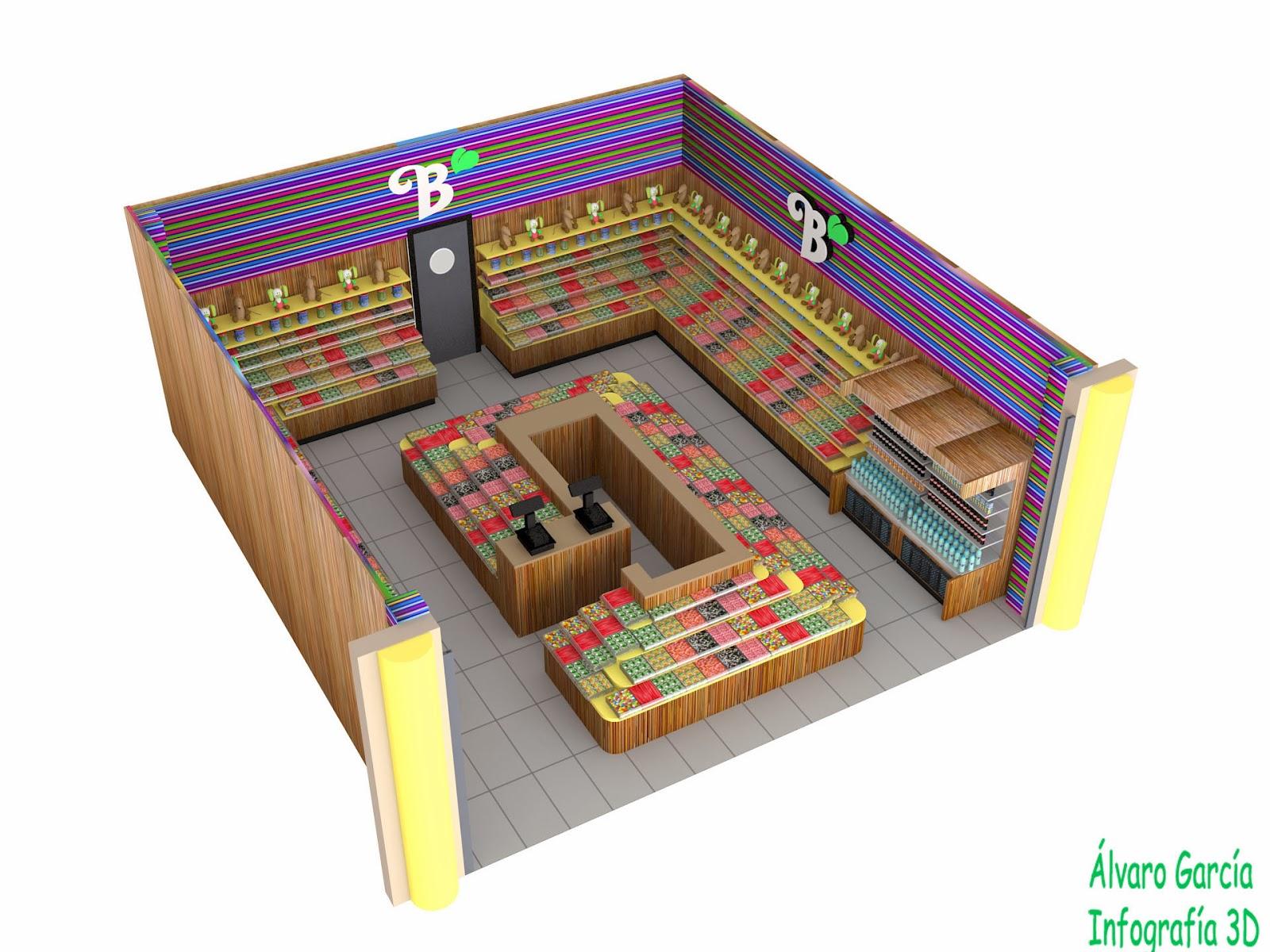 Infografia 3d dise o interiores for Infografia 3d