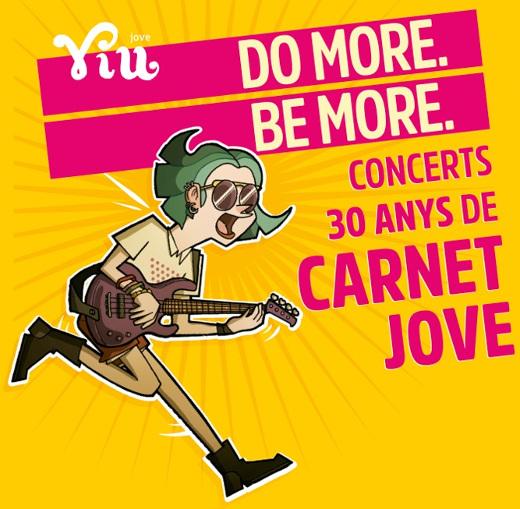 El Carnet Jove del IVAJ cumple 30 años y comienza a celebrarlo con cuatro grandes conciertos