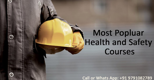 Most Popluar Health and Safety Courses