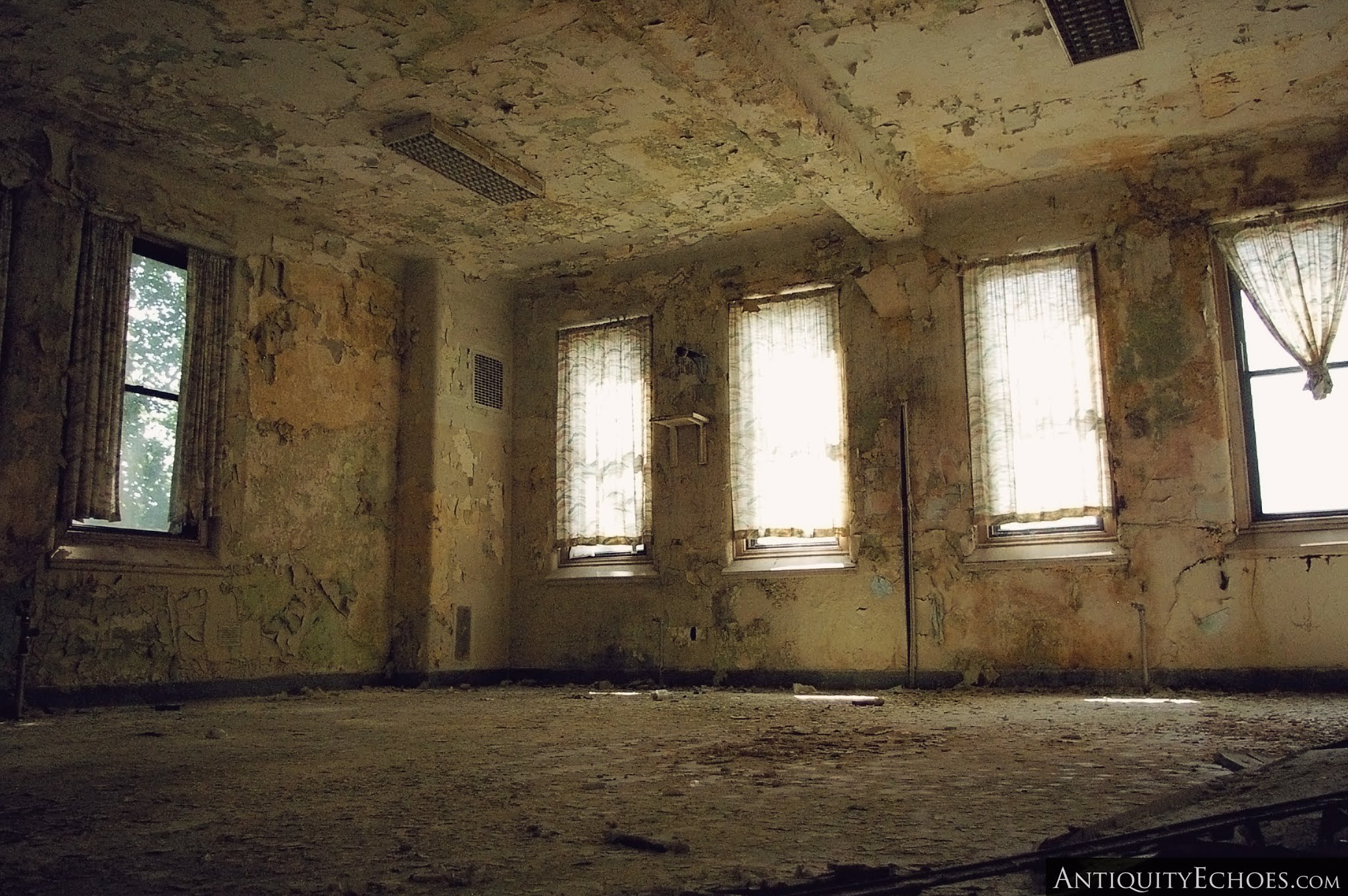 Overbrook Asylum - A Room Shedding its Skin
