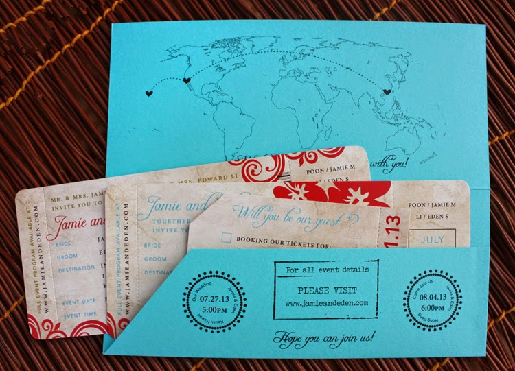 Fantastic Interesting save the date cards - Sonal J. Shah Event Consultants  CB26