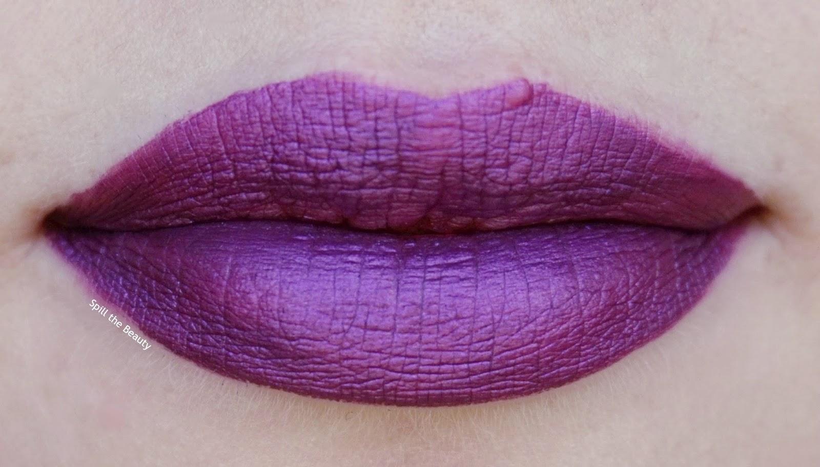 milani amore mattalic lip creme 08 raving matte lips