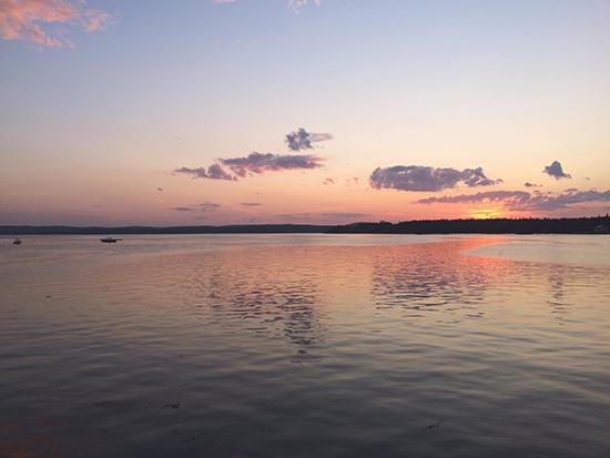 Sunset / St. Andrews, NB