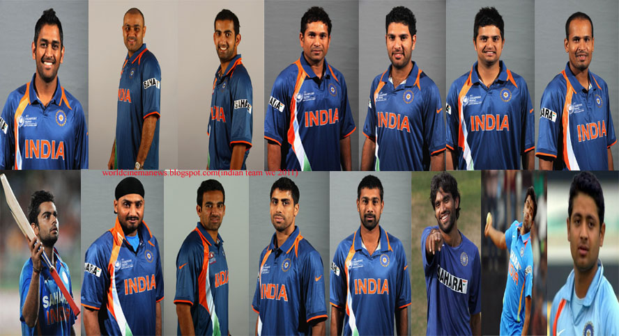 to rock indian cricket team for 2011 world cup cricket