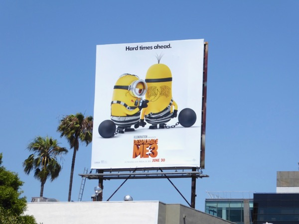 Despicable Me 3 film billboard