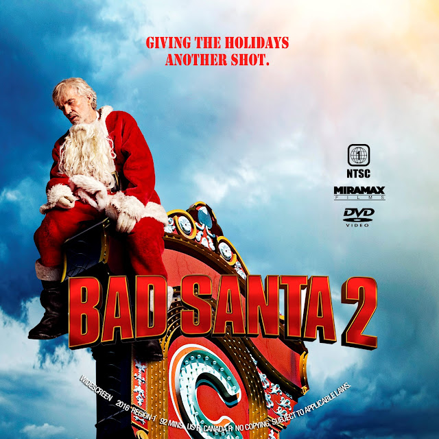 Bad Santa 2 DVD Label
