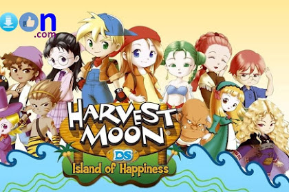 Free Download and Install Game Harvestmoon Island Happiness for PC Laptop