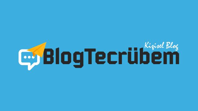 Yeni logo, yeni BlogTecrübem