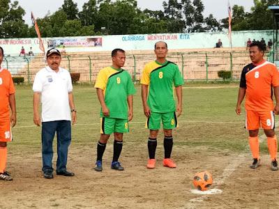Kapolres Labuhanbatu Resmi Buka Turnamen Kapolres Cup 2018