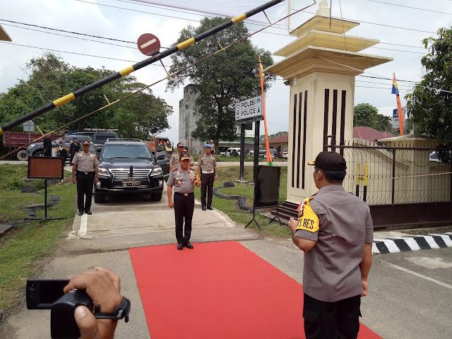 Hari ini, Polda Jambi Kunjungi Polres Tebo