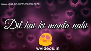 Dil Hai Ki Manta Nahi Whatsapp Status Video