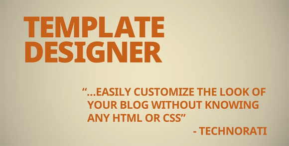 Design Custom CSS dengan Blogger Template Designer