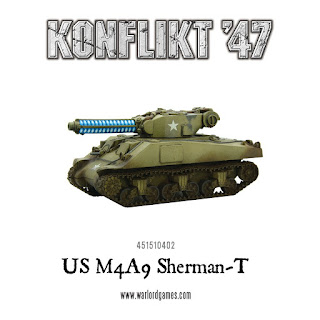Konflikt 47 - US M4A9 Sherman-T