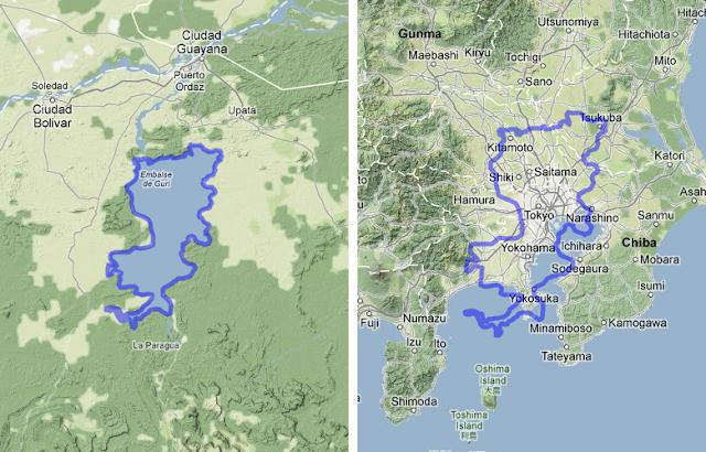 Reservoirs Trinidad Map