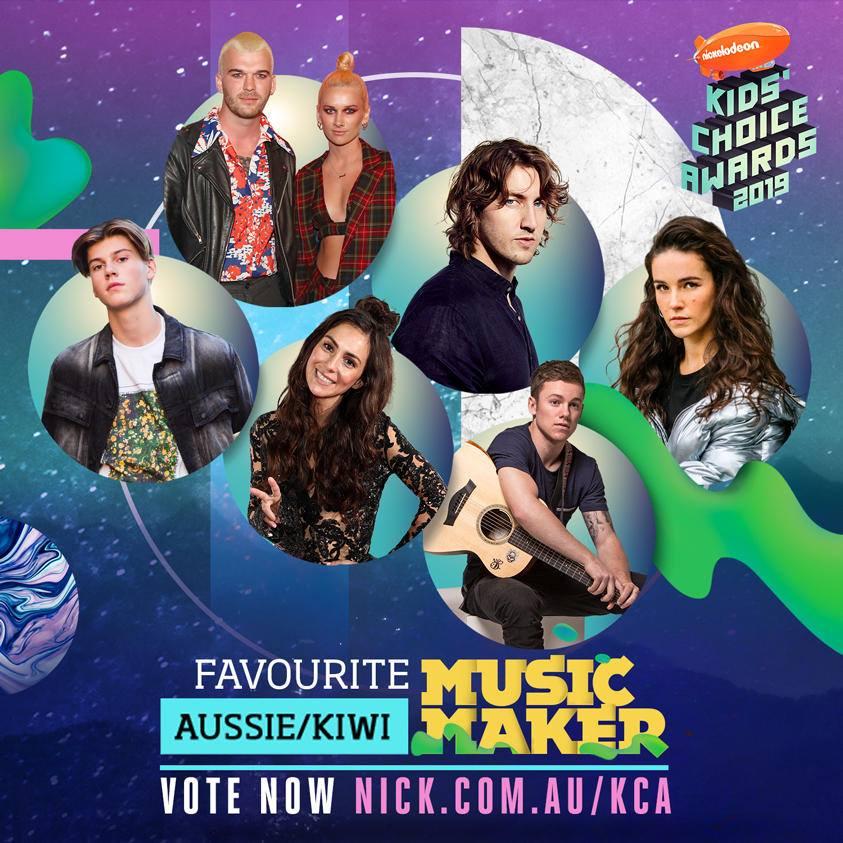 NickALive!: Aussie & Kiwi Favourites Nominated In