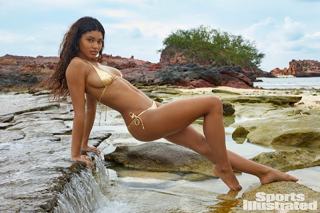 Danielle Herrington named Sports Illustrated Swimsuit Issue 2017 rookie