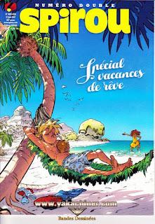 Numéro double, Spirou, spécial vacances de rêve, numéro 4132-4133, année 2017