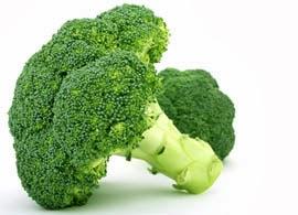 El Brócoli es rico en molibdeno