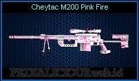 Cheytac M200 Pink Fire