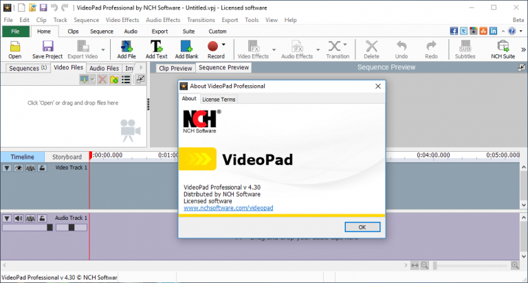 videopad video editor free activation key