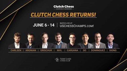 Le Clutch Chess avec Magnus Carlsen et MVL