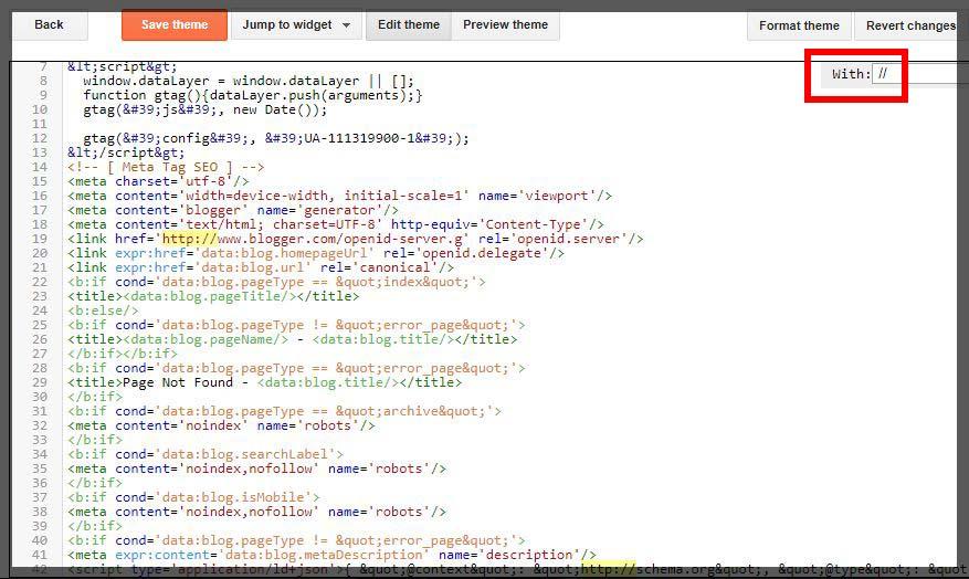 cara mengatasi Error Setelah memasang Mengktifkan SSL atau HTTPS Blogspot