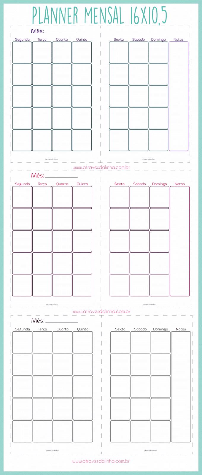 Arquivo planner evertop download mensal