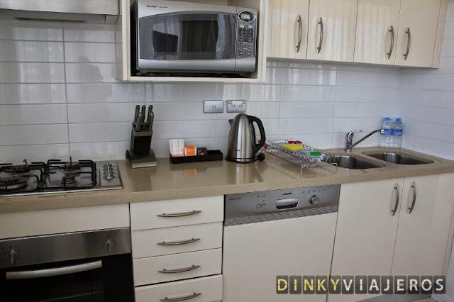 Meriton Serviced Apartments - Kent Street. Cocina
