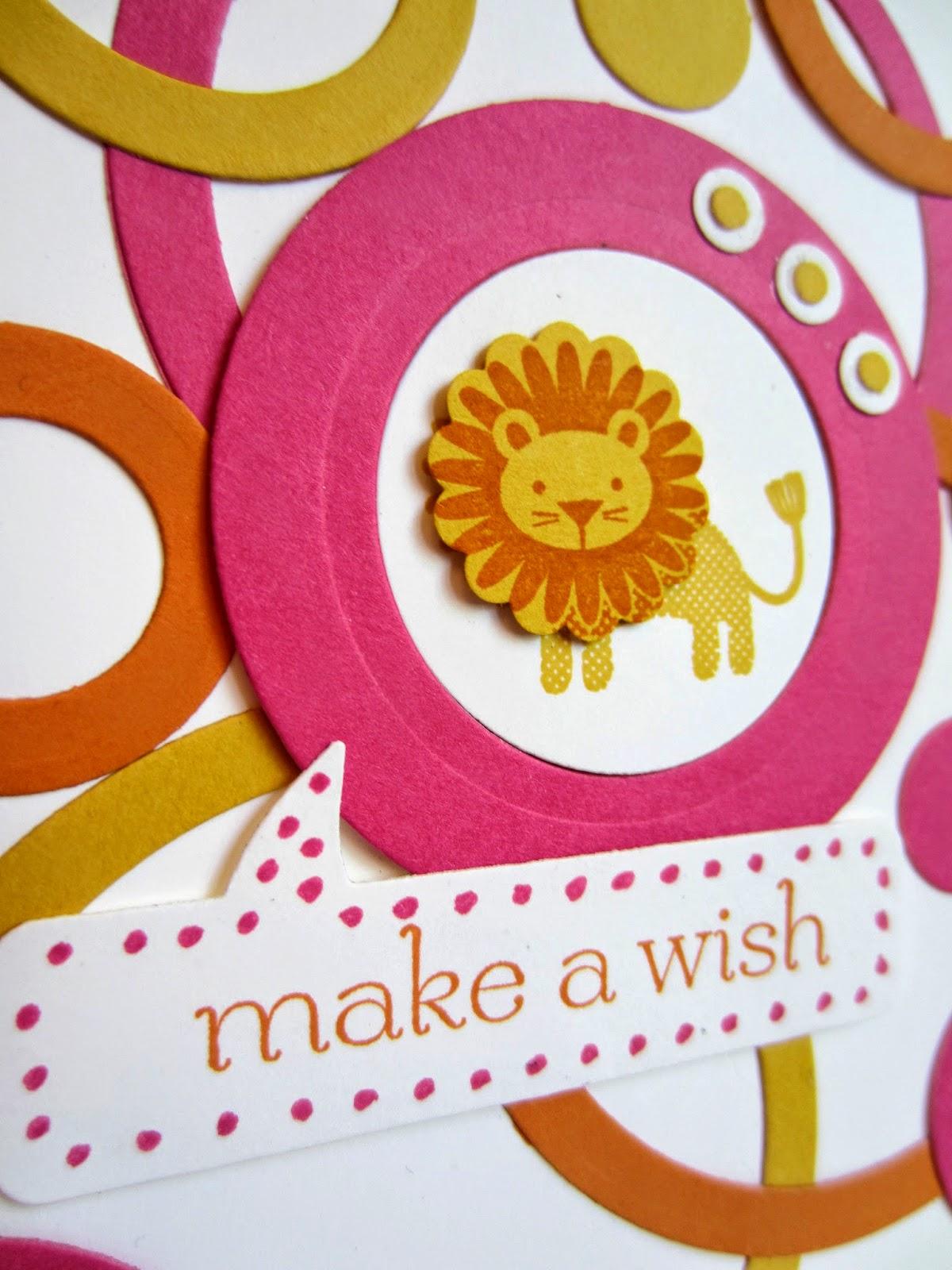 Lion card - Paper Seedlings