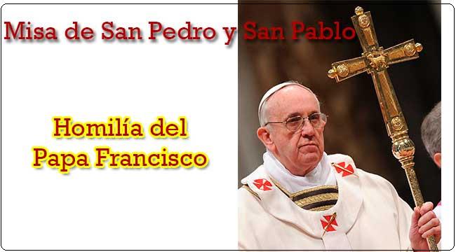 Creo Pero Aumenta Mi Fe 29 De Junio Dia Del Papa