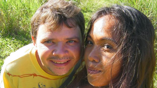 Ja wraz z Żona wyprawa w góry Ormoc City