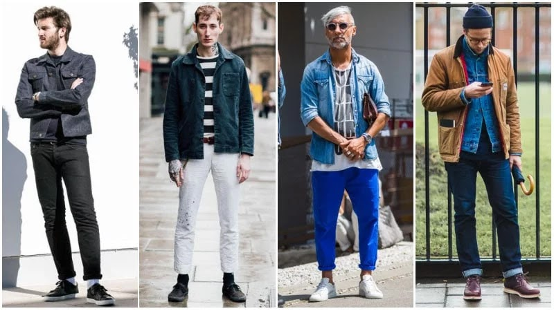 The Wardrobe Men S Fashion Blog How To Wear A Denim Jacket