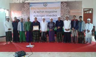 Kerjasama Dengan Media Sidogiri, Al-Miftah Magazine Gelar Diklat Jurnalistik