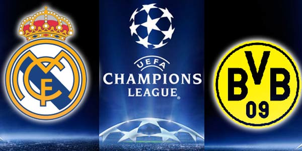 Live Streaming Real Madrid Vs Borussia Dortmund 1 May 2013 Champions