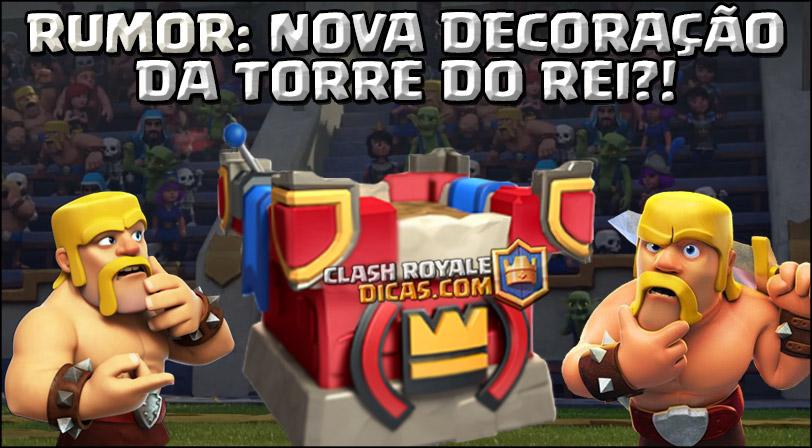 Rumor atualização Clash Royale novidades
