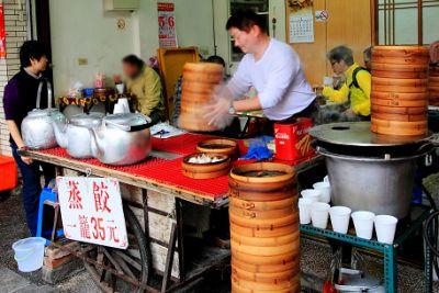 民權街早餐蒸餃