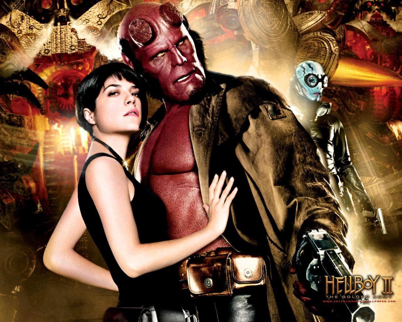 SuperHero Movies: Hellboy II : The Golden Army (2008