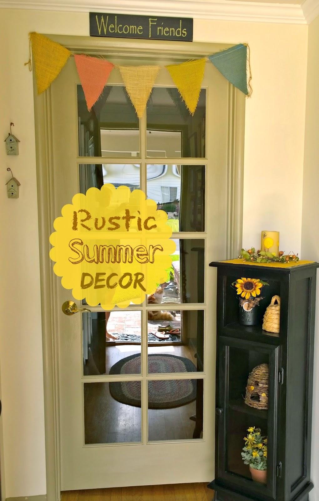 Sunny Simple Life: Spring / Summer Entry Decor