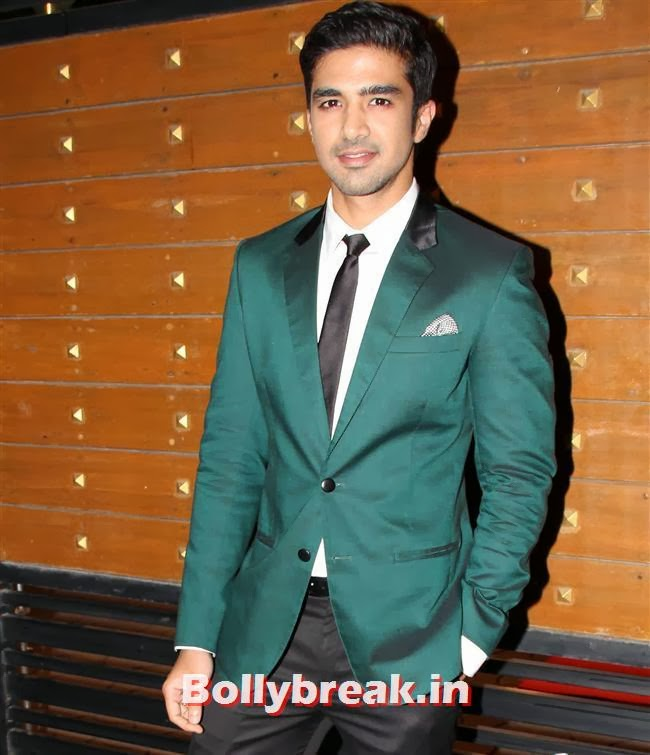 Saqib Saleem, Filmfare Awards 2014 Red carpet Images
