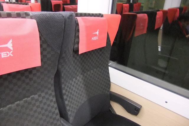 naritaexpress-seat 成田エクスプレスシート